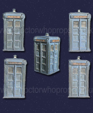 minature tardis prop